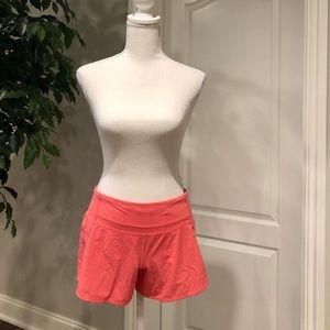 Lululemon shorts pink, size 4